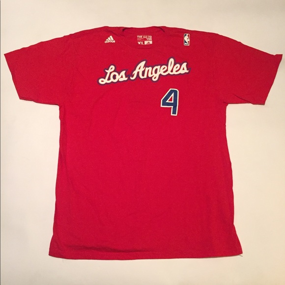 newest collection 02bf3 36ee5 Official Adidas NBA LA Clippers JJ Redick T-Shirt